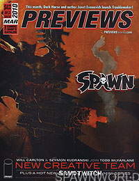 Diamond Comics' Previews Magazine March 2010