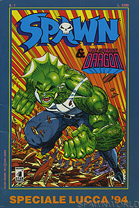 Spawn & Savage Dragon Speciale - Italy