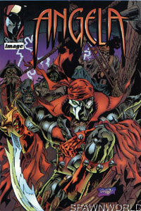 Angela Special Cover Variant Spawn Comic Books