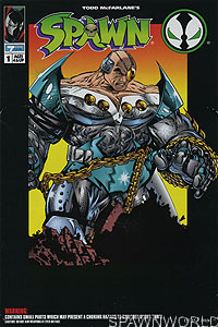 Spawn Series 1 Overtkill Figure Comic